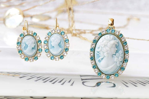 bridesmaid jewelry sets earrings and bracelet
