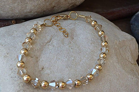 gold filled beaded jewelry
