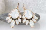 OPAL STATEMENT EARRINGS