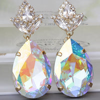 Ab Crystal Earrings