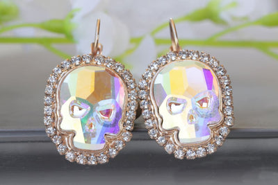 Ab Swarovski Earrings
