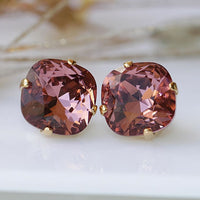 Antique Pink Earrings