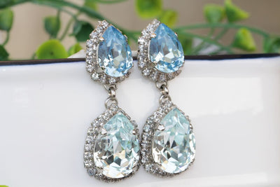 Aquamarine Chandelier Earring