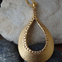 Big Teardrop Pendant
