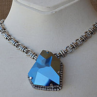 Blue Jewelry Set