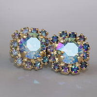 Blue Post Earrings