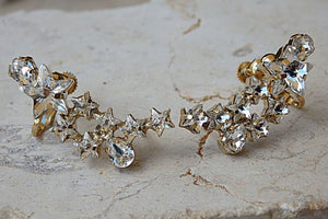 Bridal Climber Earrings