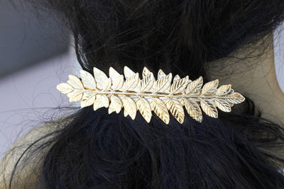 Bridal Leaf Barrette