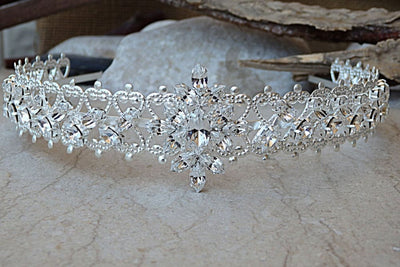 Bridal Tiara Crystal Tiara For Wedding