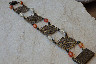 Brown Bead Bracelet