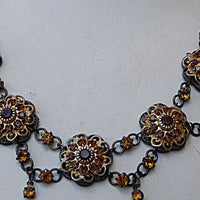 Brown Estate Necklace