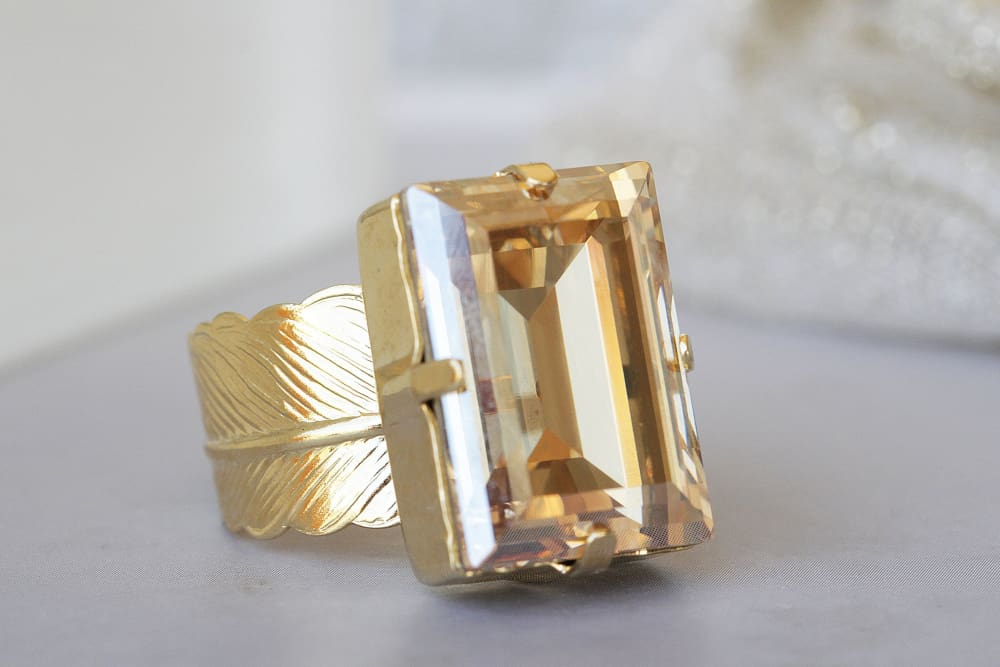 Champagne Cocktail Ring
