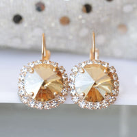 Champagne Gold Earrings