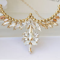 Champagne Statement Necklace
