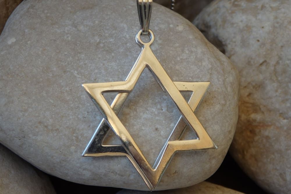 Classic Star Of David Necklace