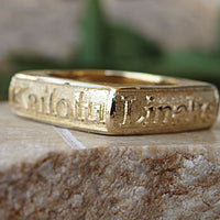 Custom Engraved Ring