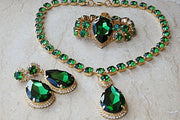 Emerald Jewelry Set