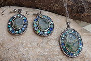 Enamel Jewelry Set