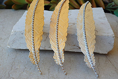 Feather Hair Barrette