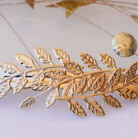 Gold Barrette