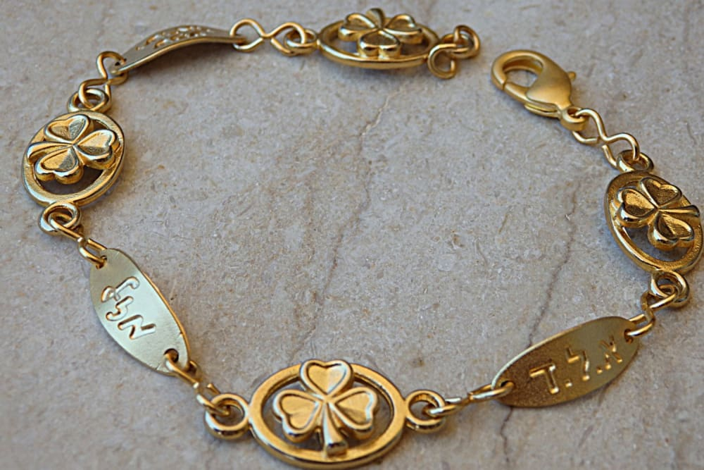 Gold Blessings Bracelet
