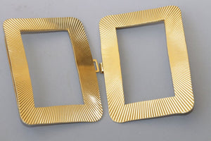 Gold Double Buckle