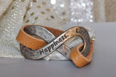 Happiness Leather Bracelet