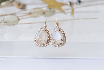 Ivory Cream Earrings
