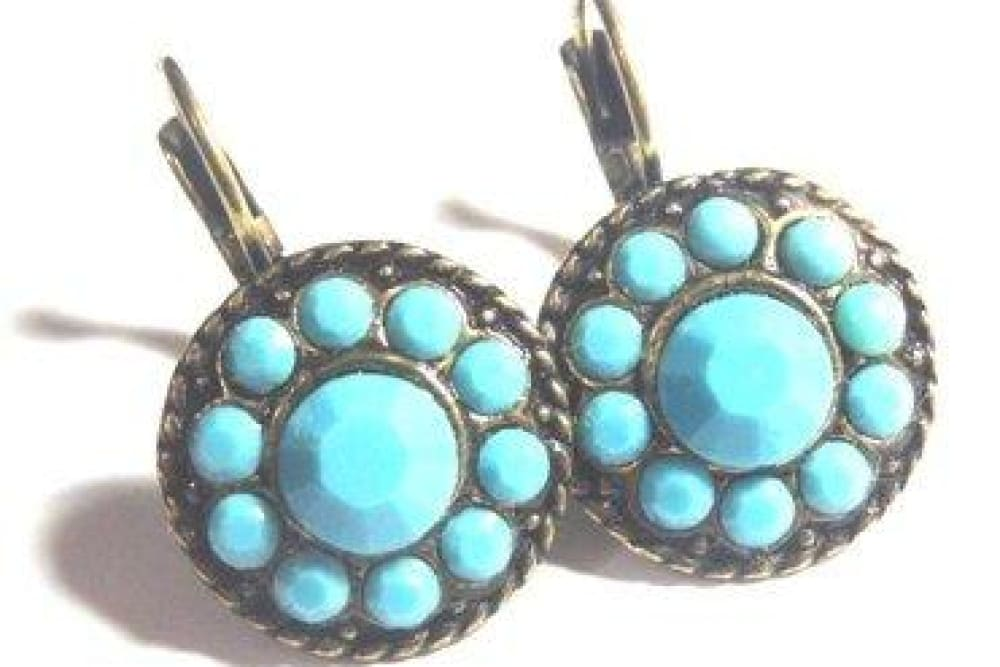 Light Turquoise Earrings