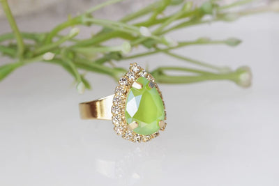 Lime French Ring