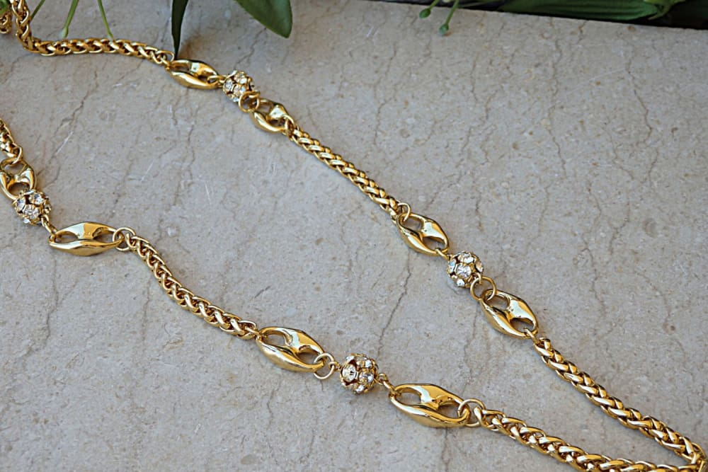 Long Chunky Necklace