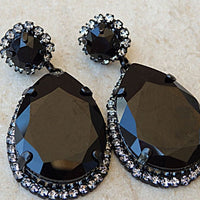 Mother Of Bride Teardrop Earrings