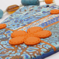 Multicolor Clay Hamsa