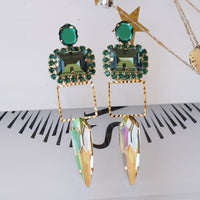Peridot Emerald Earrings