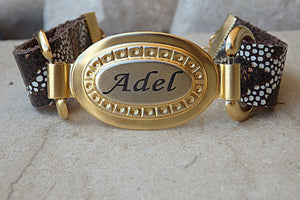 Personalized Name Id Bracelet