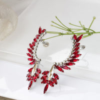 Red Climbing Earrings
