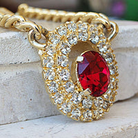 Ruby Red Necklace