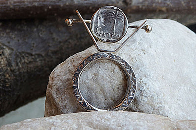 Signet Coin Silver Ring
