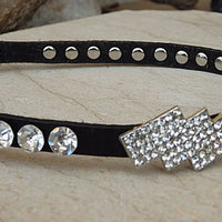 Skinny Leather Belt. Crystal Swarovski Belt. Black Leather Belt. Thin Leather Belt. Women Leather Belt. Narrow Leather Belt. Adjustable Belt