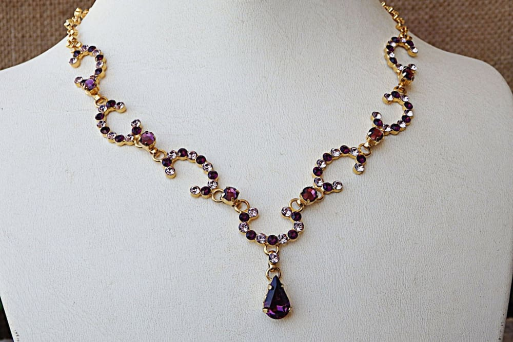 Swarovski Rhinestone Necklace
