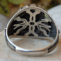 Sword Ring. Signet Ring