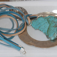Turquoise Necklace Statement