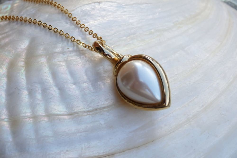 Wedding Pearl Pendant Necklace