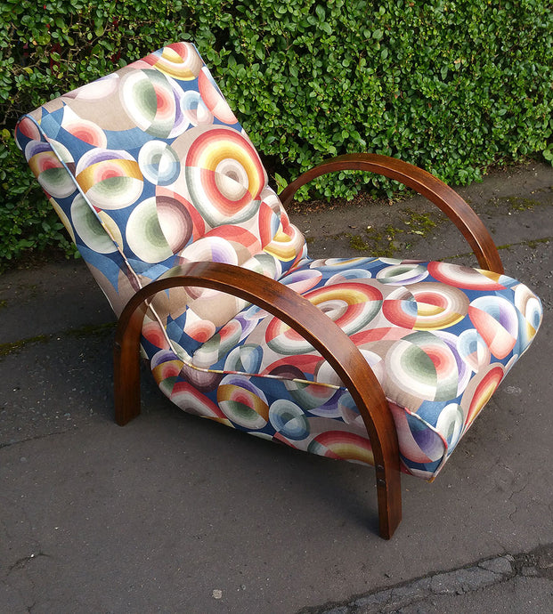 Restoring two art deco armchairs