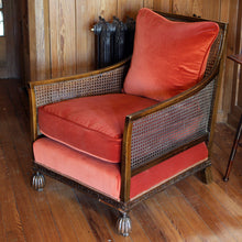 Load image into Gallery viewer, An Edwardian Bergere Armchair