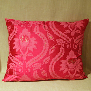 Printed pink silk - The Glasgow Guild