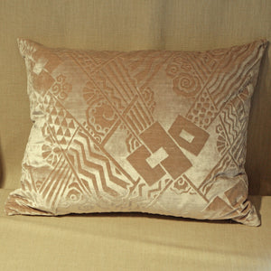 Art Deco embossed velvet - The Glasgow Guild