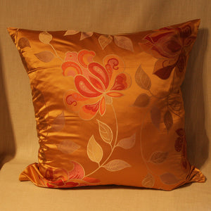 Woven silk mix floral - The Glasgow Guild