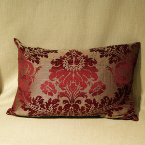 Woven silk damask - The Glasgow Guild