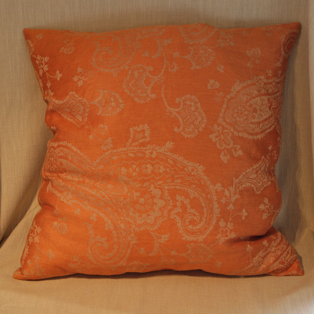 Woven linen paisley - The Glasgow Guild